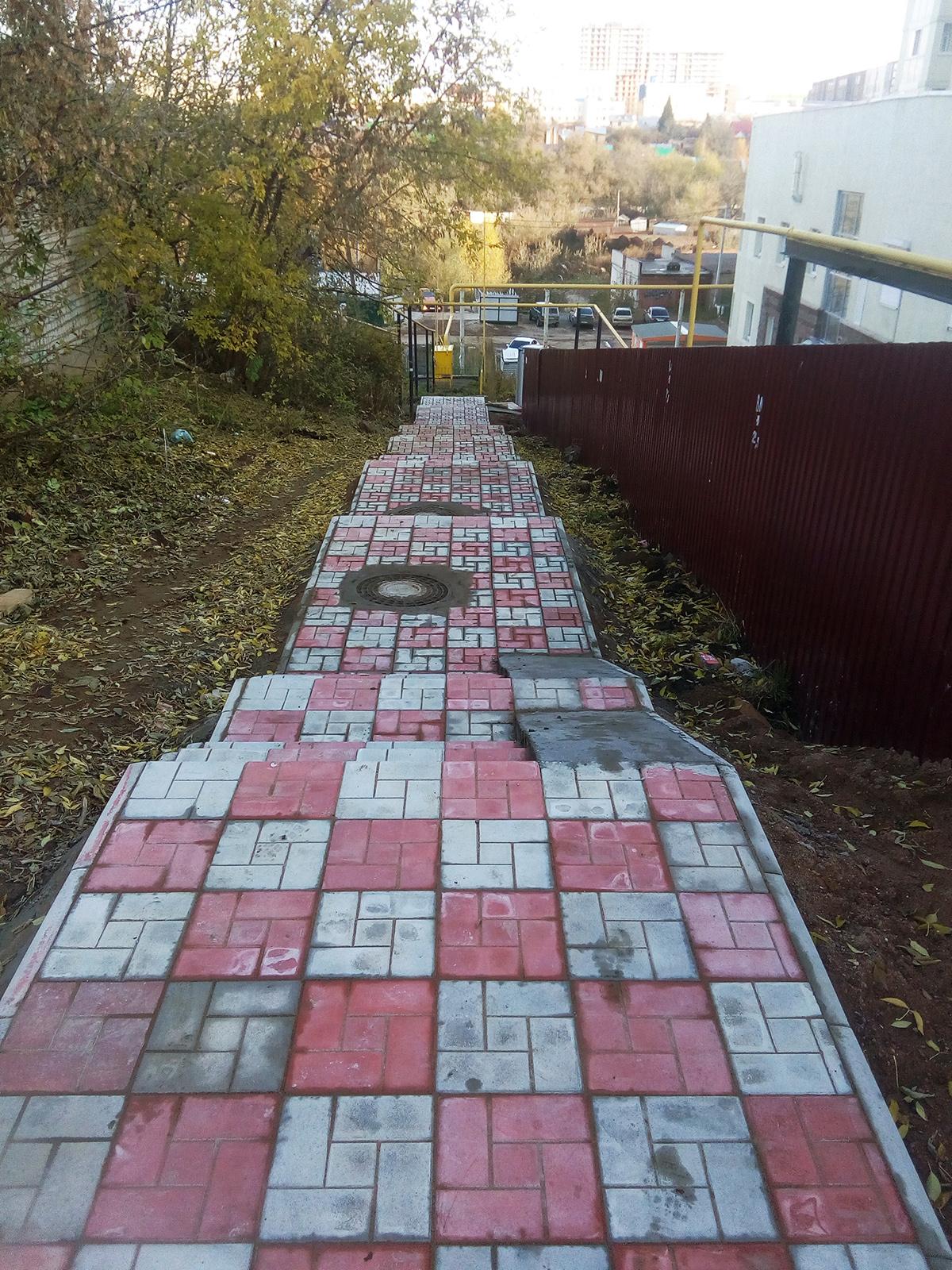 Тротуарная плитка брусчатка