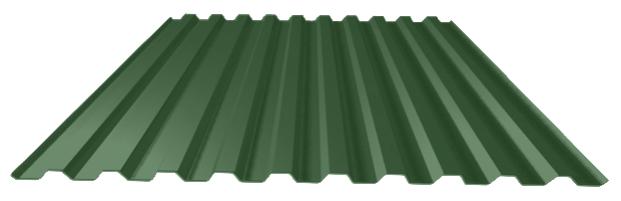 зеленый лист профнастил