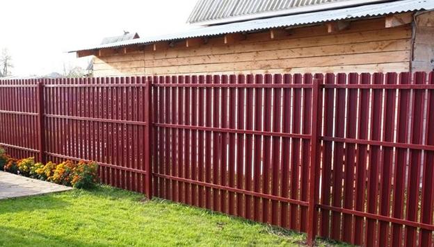 забор из штакетника в Уфе